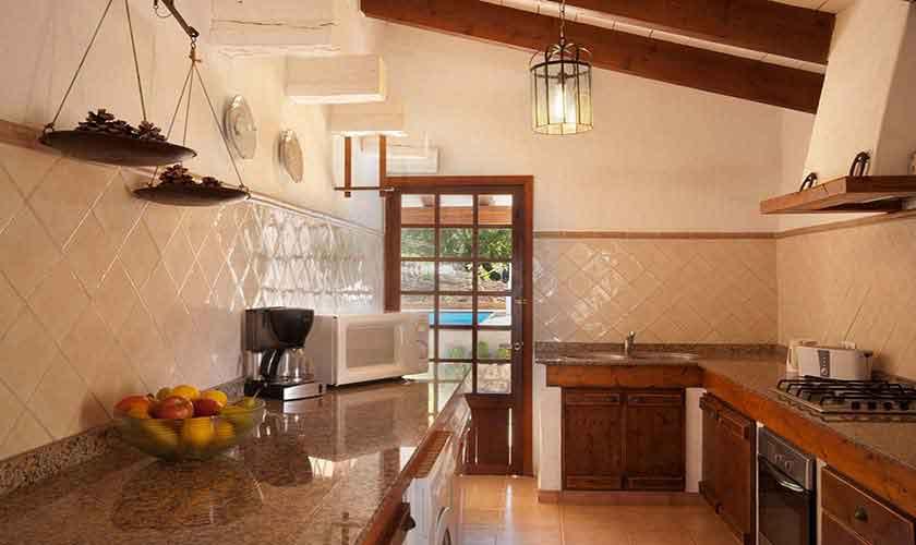 Küche Finca Mallorca 6 Personen PM 3771