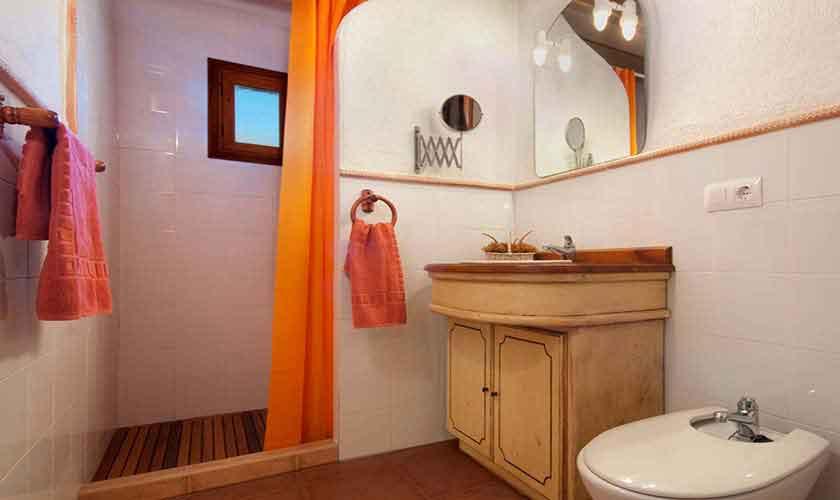Badezimmer Ferienhaus Mallorca 6 Personen PM 3771