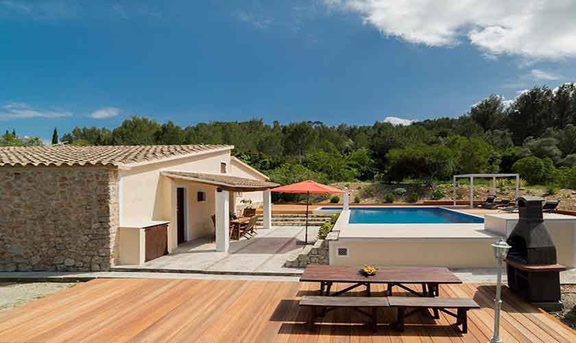 Pool und Finca Mallorca Norden PM 3771