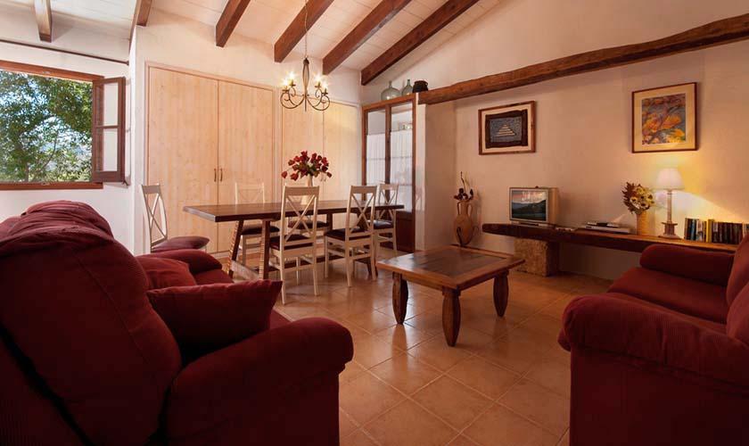 Wohnraum Finca Mallorca 6 Personen PM 3771