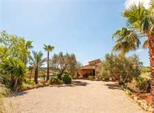 Blick auf die  Finca Mallorca Norden PM 3796