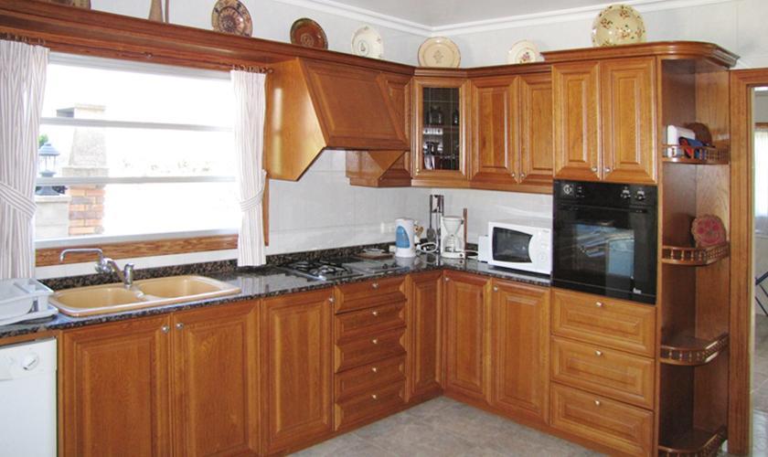 Küche Ferienhaus Mallorca Norden PM 379