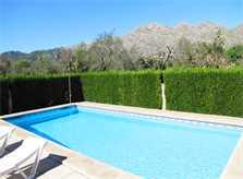 Poolblick Ferienhaus Mallorca Norden PM 379