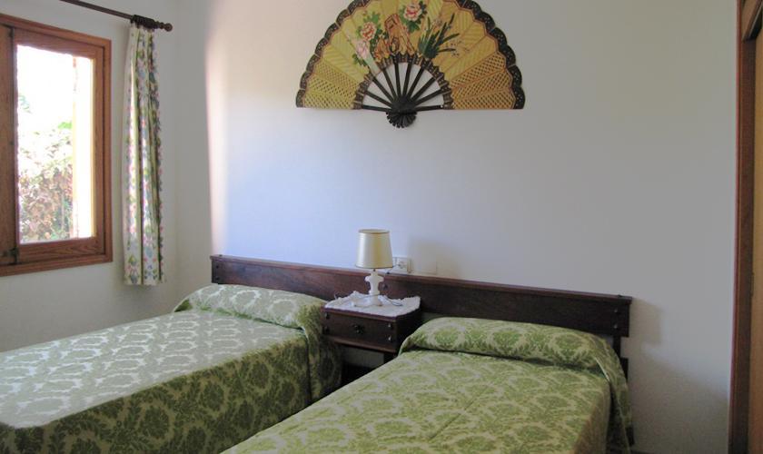 Schlafzimmer Ferienhaus Mallorca Norden PM 379