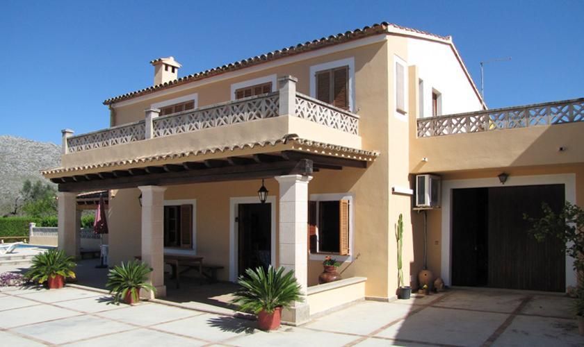 Blick auf das Ferienhaus Mallorca Norden PM 379