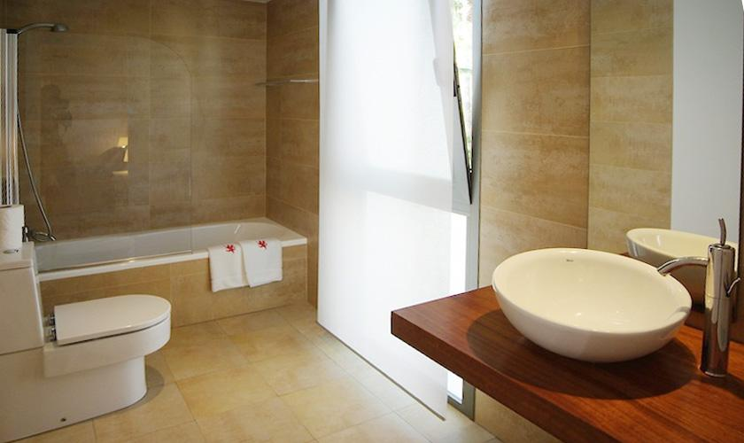Badezimmer Villa Mallorca PM 3802 für 10 Personen