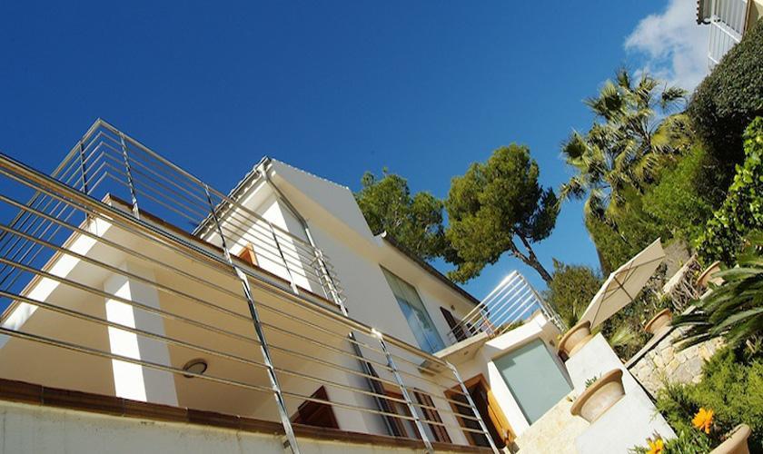Blick auf die Ferienvilla Mallorca PM 3802 für 10 Personen