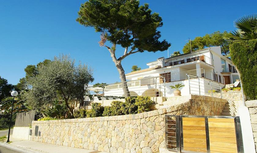 Blick auf die Villa Mallorca PM 3802 für 10 Personen