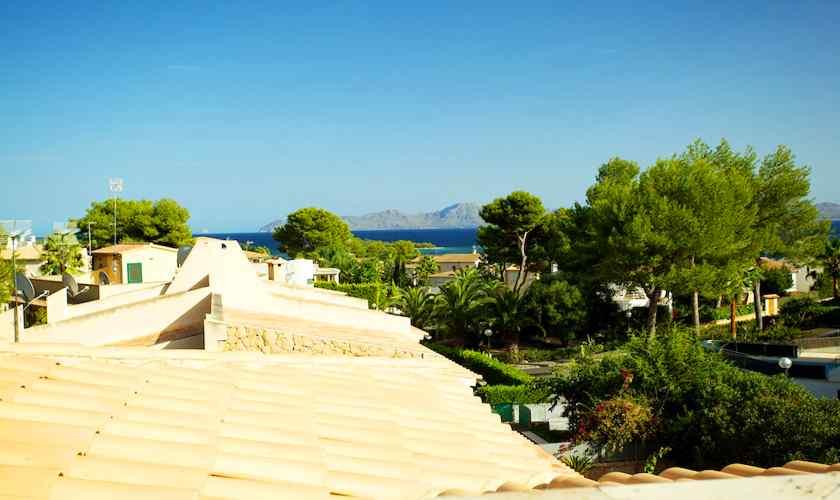 Blick vom Ferienhaus Mallorca 8 Personen PM 3803
