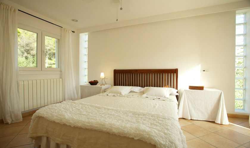 Schlafzimmer Ferienhaus Mallorca Norden PM 3803