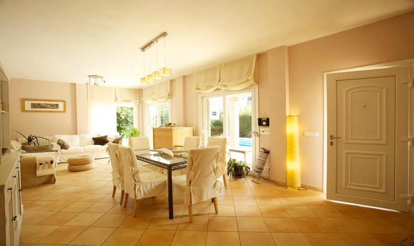 Wohnraum Ferienhaus Mallorca PM 3803