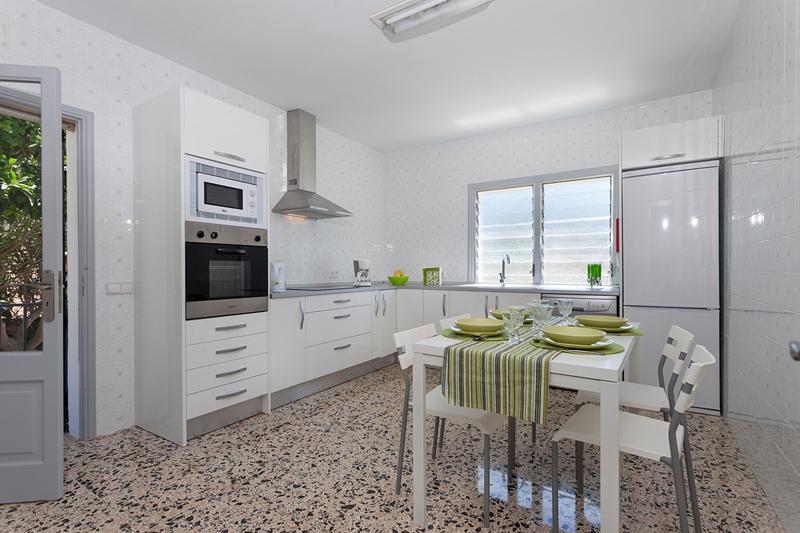 Küche Ferienfinca Mallorca Strandnähe Nordküste PM 3804