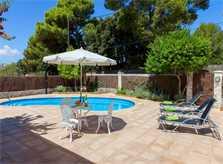Pool und Garten Ferienhaus Mallorca Strandnähe Nordküste PM 3804