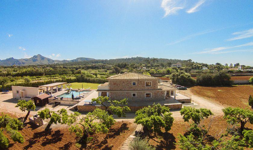 Blick auf die Exklusive Ferienfinca Mallorca PM 3806