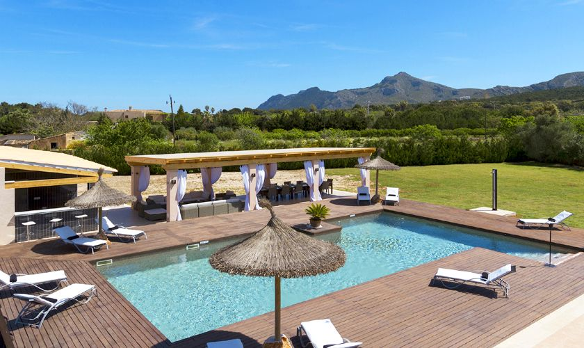 Pool und Luxusfinca Mallorca PM 3806