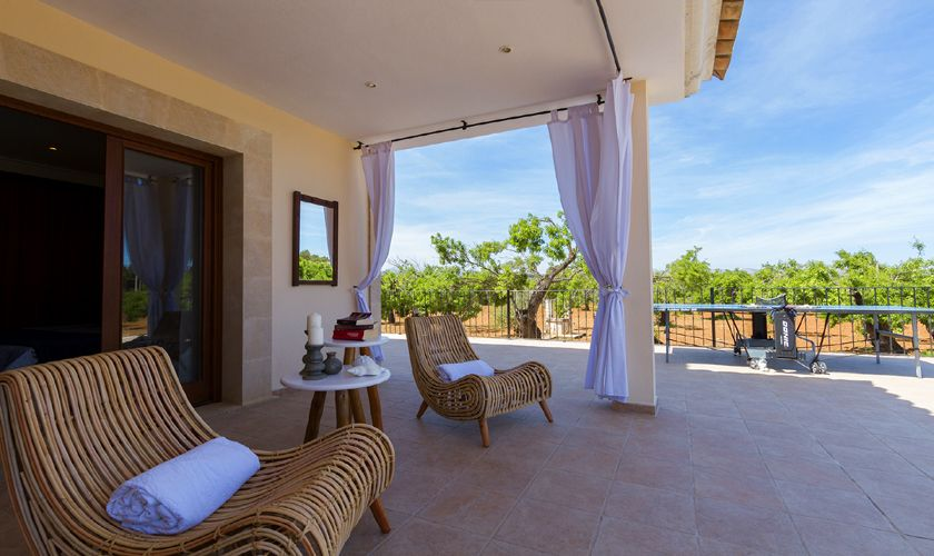 Terrasse Luxusvilla Mallorca PM 3806