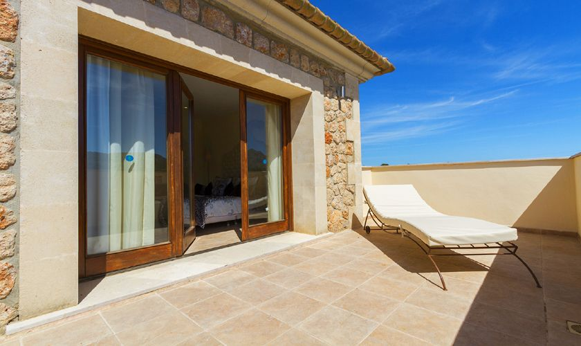 Terrasse oben Exklusives Ferienhaus Mallorca PM 3806