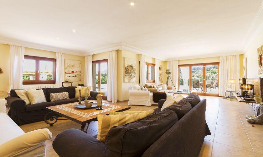 Wohnraum Luxusvilla Mallorca PM 3806
