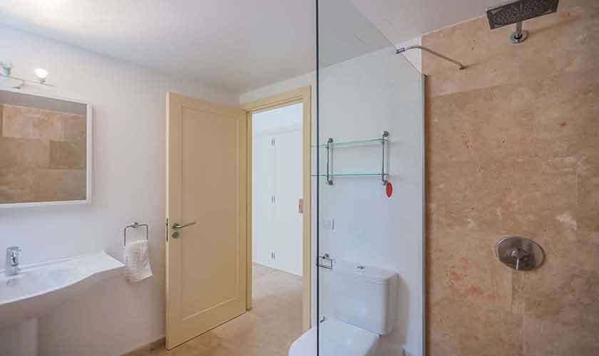 Badezimmer Ferienvilla Mallorca Nordküste PM 3807