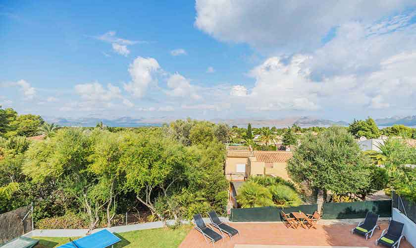 Blick von der Ferienvilla Mallorca Nordküste PM 3807