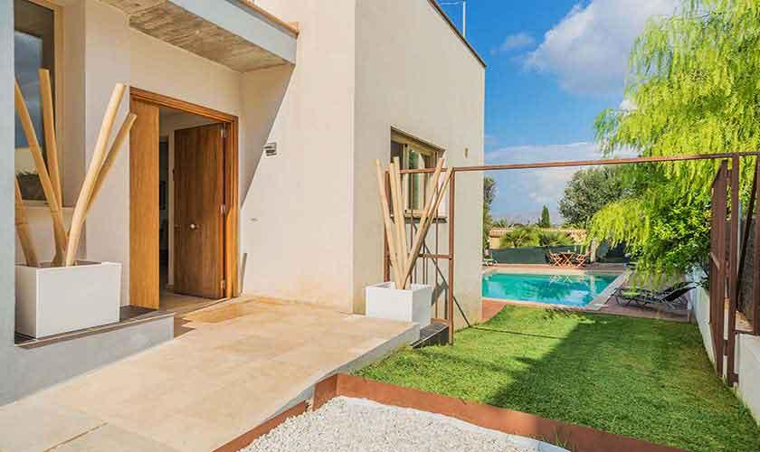 Eingang Ferienvilla Mallorca Nordküste PM 3807