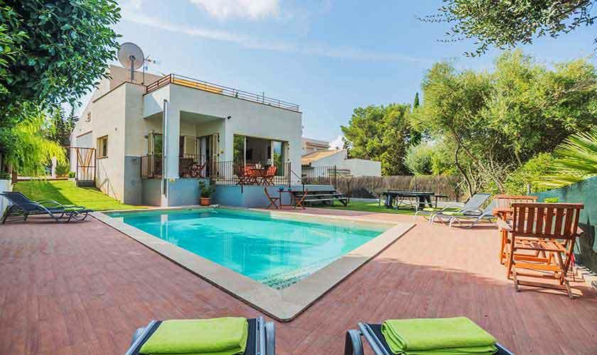 Pool und Ferienvilla Mallorca Nordküste PM 3807