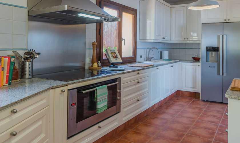 Küche Exklusive Villa Mallorca Nordküste Meerblick PM 3808
