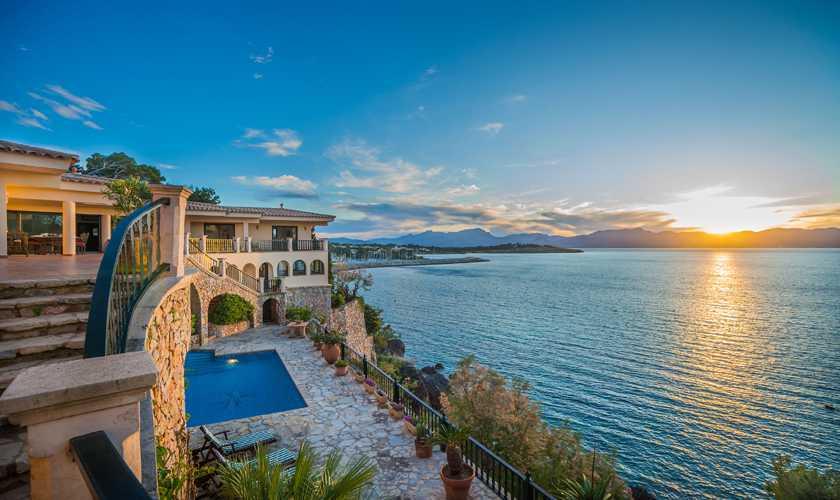Meerblick Villa Mallorca Nordküste 8 Personen PM 3808