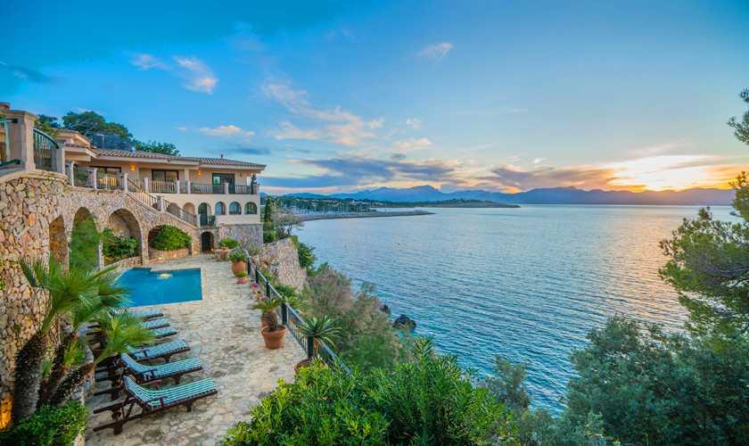 Meerblick und Villa Mallorca Nordküste 8 Personen PM 3808