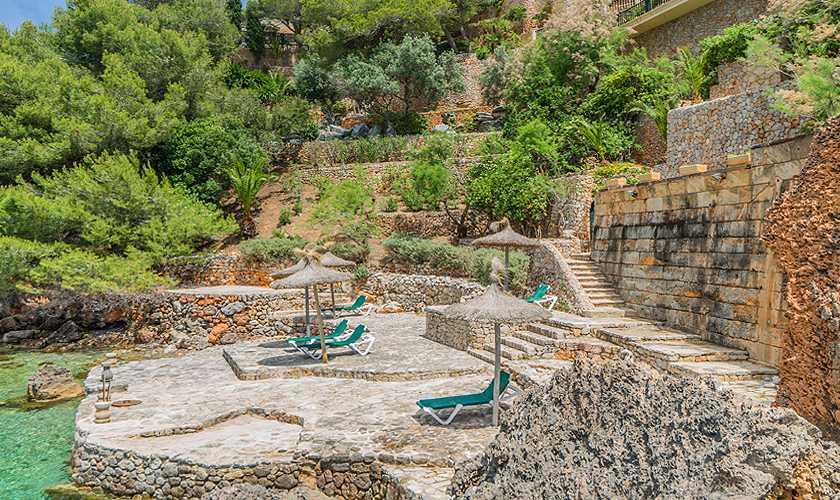 Meereszugang Luxusvilla Mallorca Meerblick PM 3808