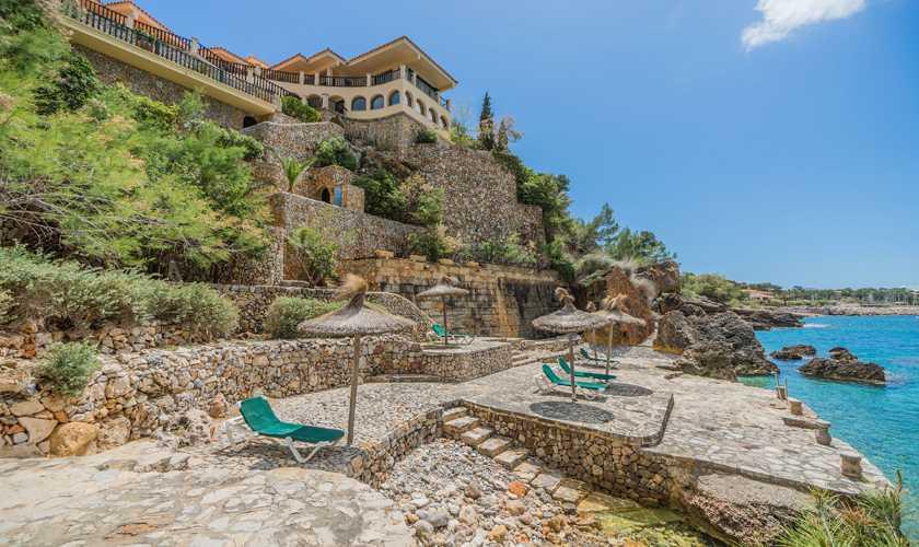 Meereszugang Villa Mallorca Nordküste 8 Personen PM 3808