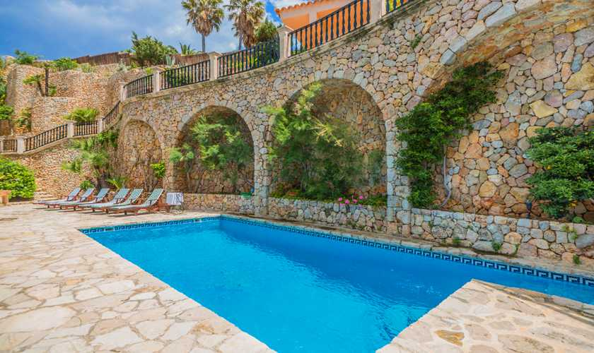 Pool und Villa Mallorca Nordküste 8 Personen PM 3808