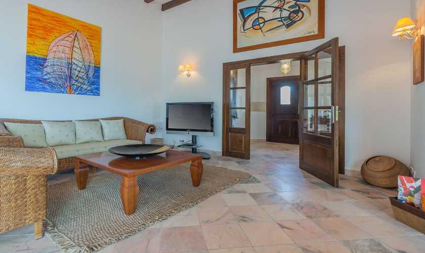 Wohnraum Exklusive Villa Mallorca Nordküste PM 3808
