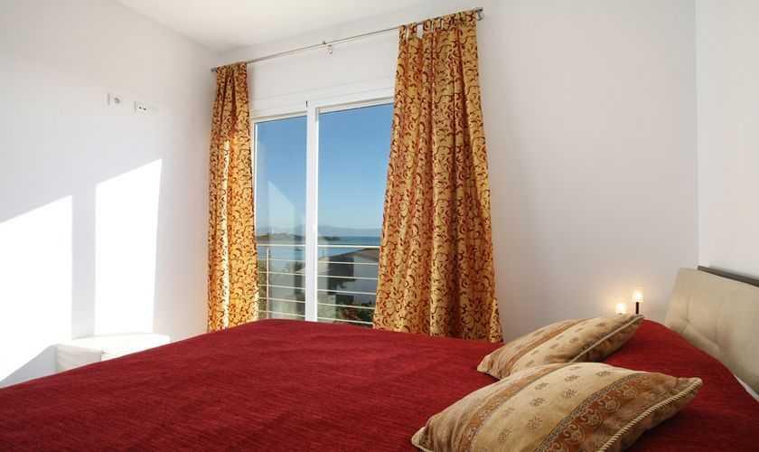 Schlafzimmer Ferienhaus Mallorca Nordküste PM 380