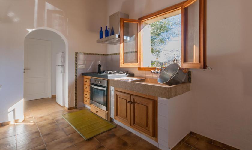 Küche Finca Mallorca für 2 Personen PM 3815