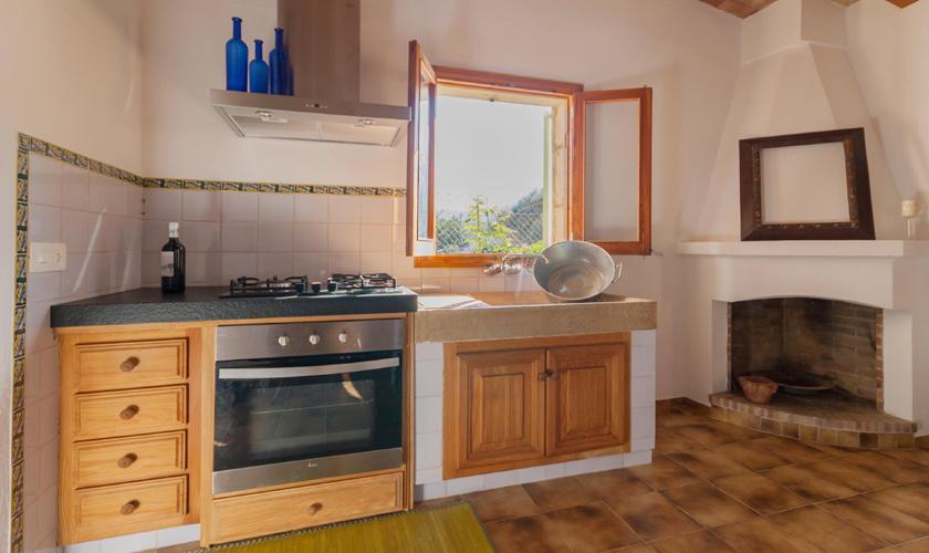 Küche Ferienhaus Mallorca für 2 Personen PM 3815