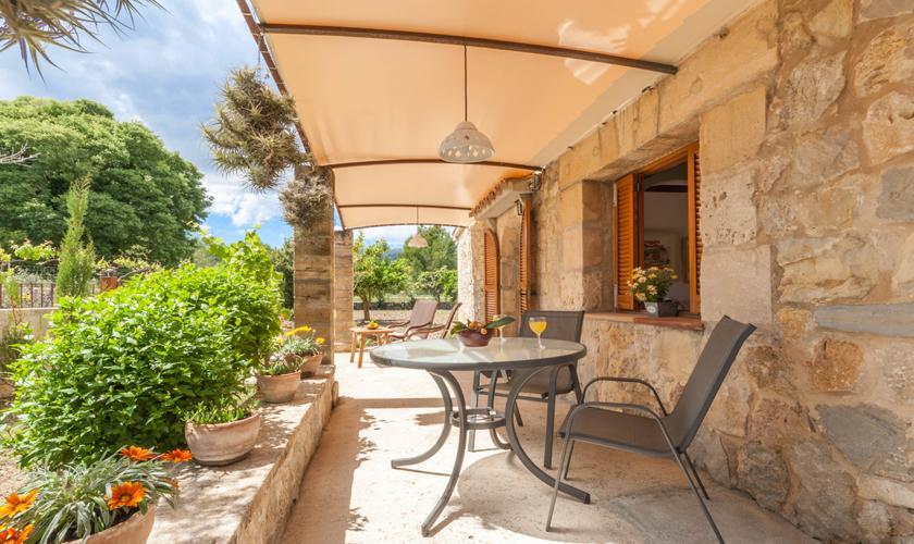 Terrasse Finca Mallorca für 2 Personen PM 3815