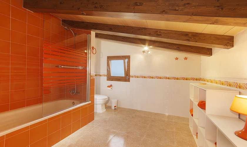 Badezimmer Finca Mallorca Pollenca PM 381