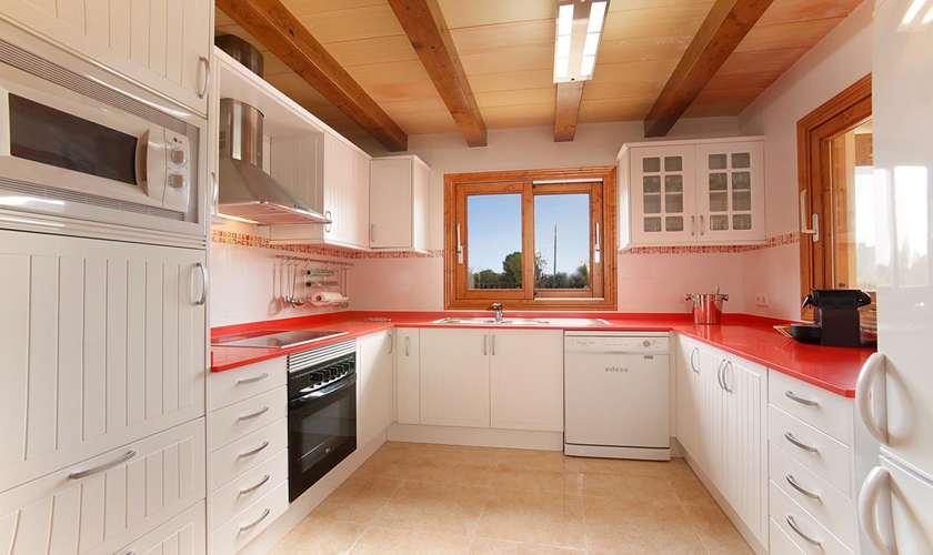 Küche Finca Mallorca Pollenca PM 381