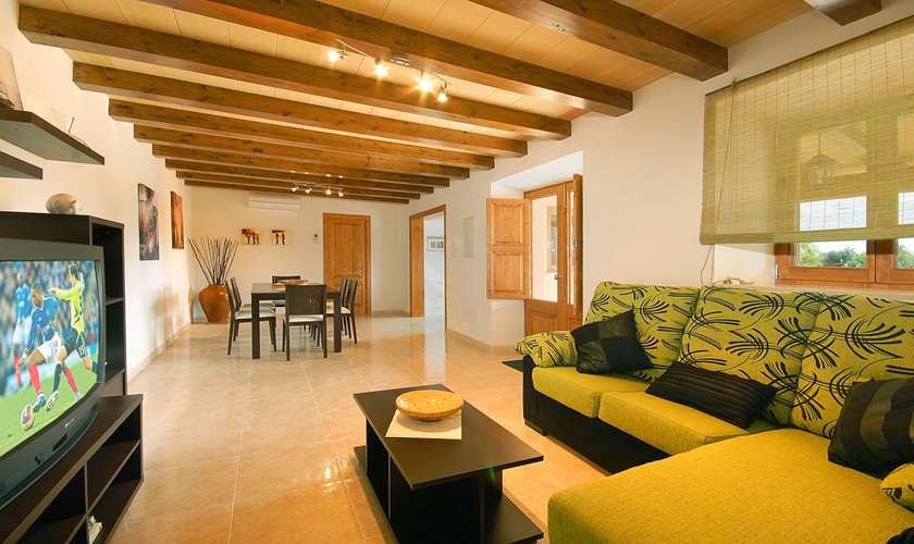 Wohnraum Finca Mallorca Pollenca PM 381