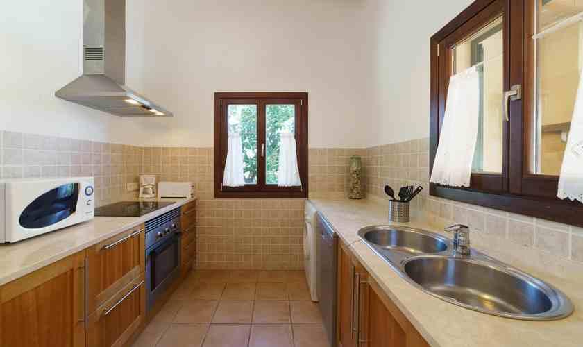 Küche Finca Mallorca 4 Personen PM 3835