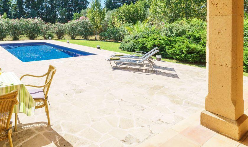 Poolblick Finca Mallorca 6 Personen PM 3835
