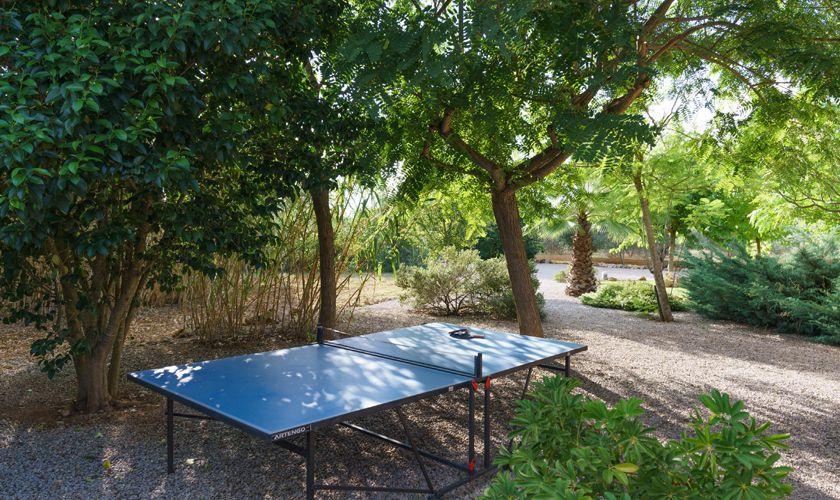 Tischtennis Finca Mallorca 4 Personen PM 3835