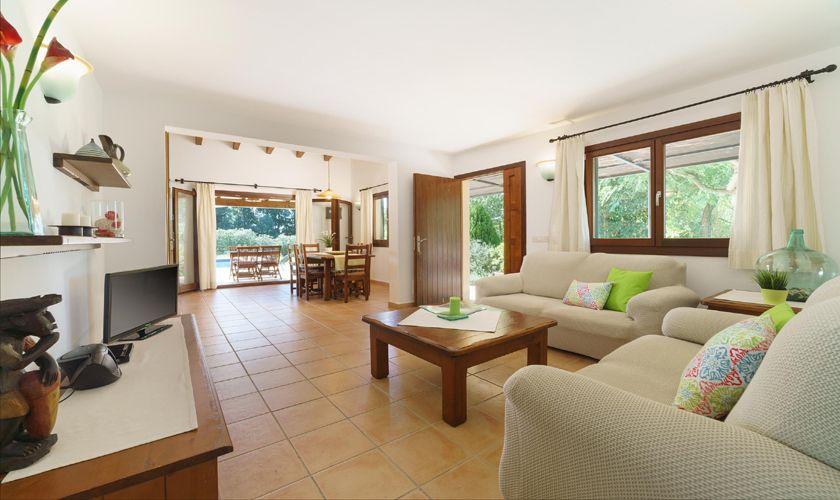 Wohnraum Finca Mallorca 4 Personen PM 3835