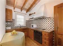 Küche Finca Mallorca für 4 Personen PM 383