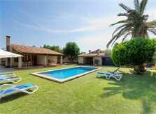 Pool der Ferienfinca Mallorca für 4 Personen PM 383