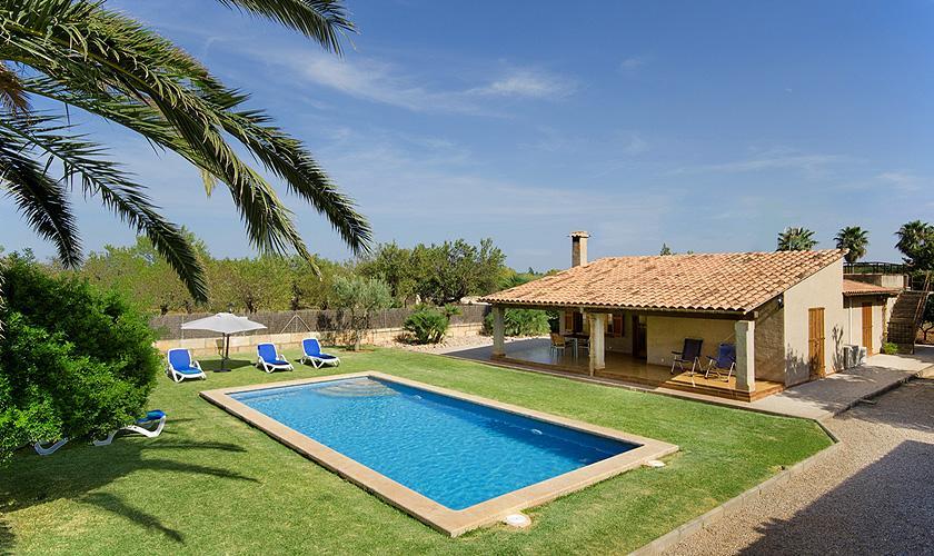 Pool und Finca Mallorca Norden PM 383