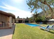 Terrasse Ferienfinca Mallorca für 4 Personen PM 383