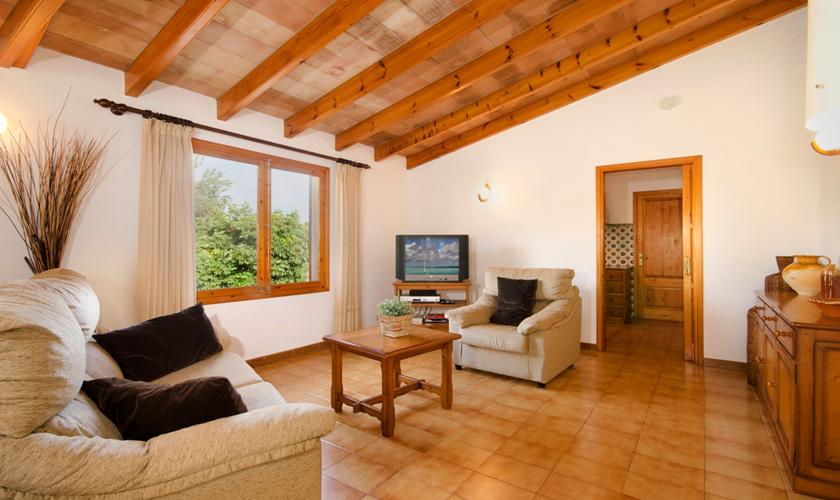 Wohnraum Finca Mallorca für 4 Personen PM 383