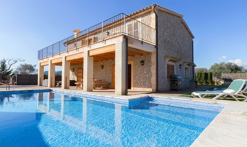 Pool und Finca Mallorca Norden PM 3841